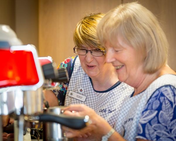 Volunteers needed to help in Hospice Café