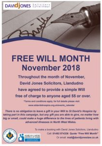 Free Will Month 2018