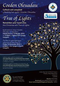 Tree of Lights Service - Llangefni @ St. Cyngar's Church | Wales | United Kingdom