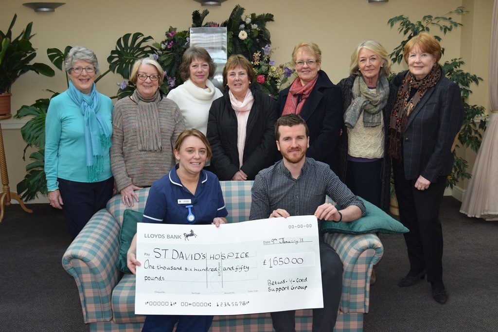 The Community of Betws-Y-Coed came together to raise their highest ever total