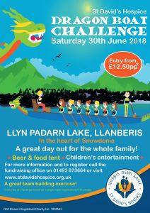 Dragon Boat Challenge 2018 @ Llyn Padarn Lake