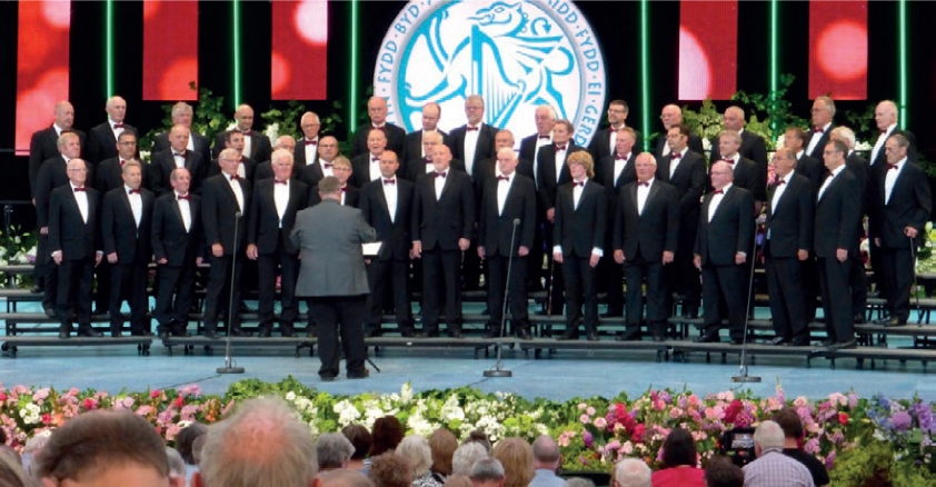 PATRIOTIC CHARITY CONCERT TO CELEBRATE WALES