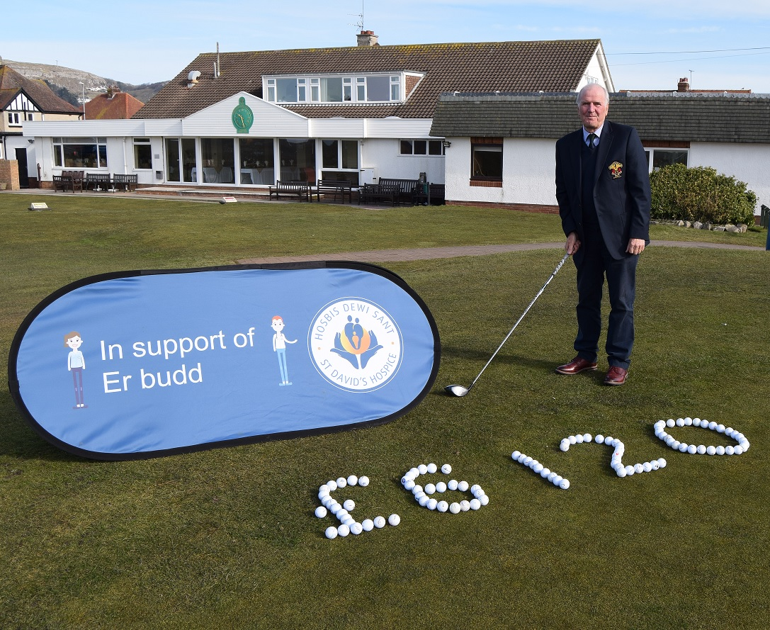 CHARITABLE GOLFERS EFFORTS HAVE RAISED THOUSANDS OF POUNDS