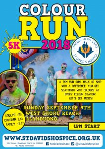 Colour Run 2018 @ West Shore Beach Llandudno | Wales | United Kingdom