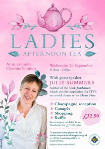 Ladies Afternoon Tea 2018 @ An exquisite Cheshire location | England | United Kingdom