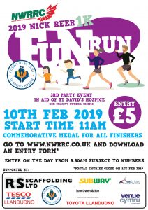 Nick Beer Fun Run 2019 @ Opposite the Imperial Hotel on the Prom | Wales | United Kingdom