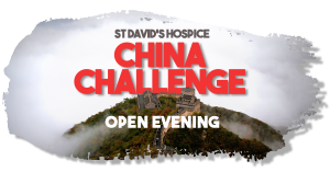 China Challenge 2020 - Open Evening @ St David's Hospice | Wales | United Kingdom