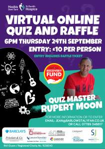 NWBC Virtual Online Quiz and Raffle 2020 with Rupert Moon @ Virtual - at home | Wales | United Kingdom