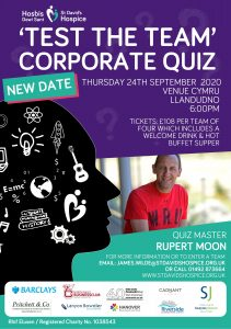'Test the Team' Corporate Quiz Night 2020 @ Venue Cymru | Wales | United Kingdom