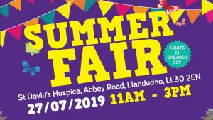 Llandudno Summer Fair @ St David's Hospice