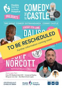 Comedy at the Castle 2020 @ Conwy Castle | Wales | United Kingdom
