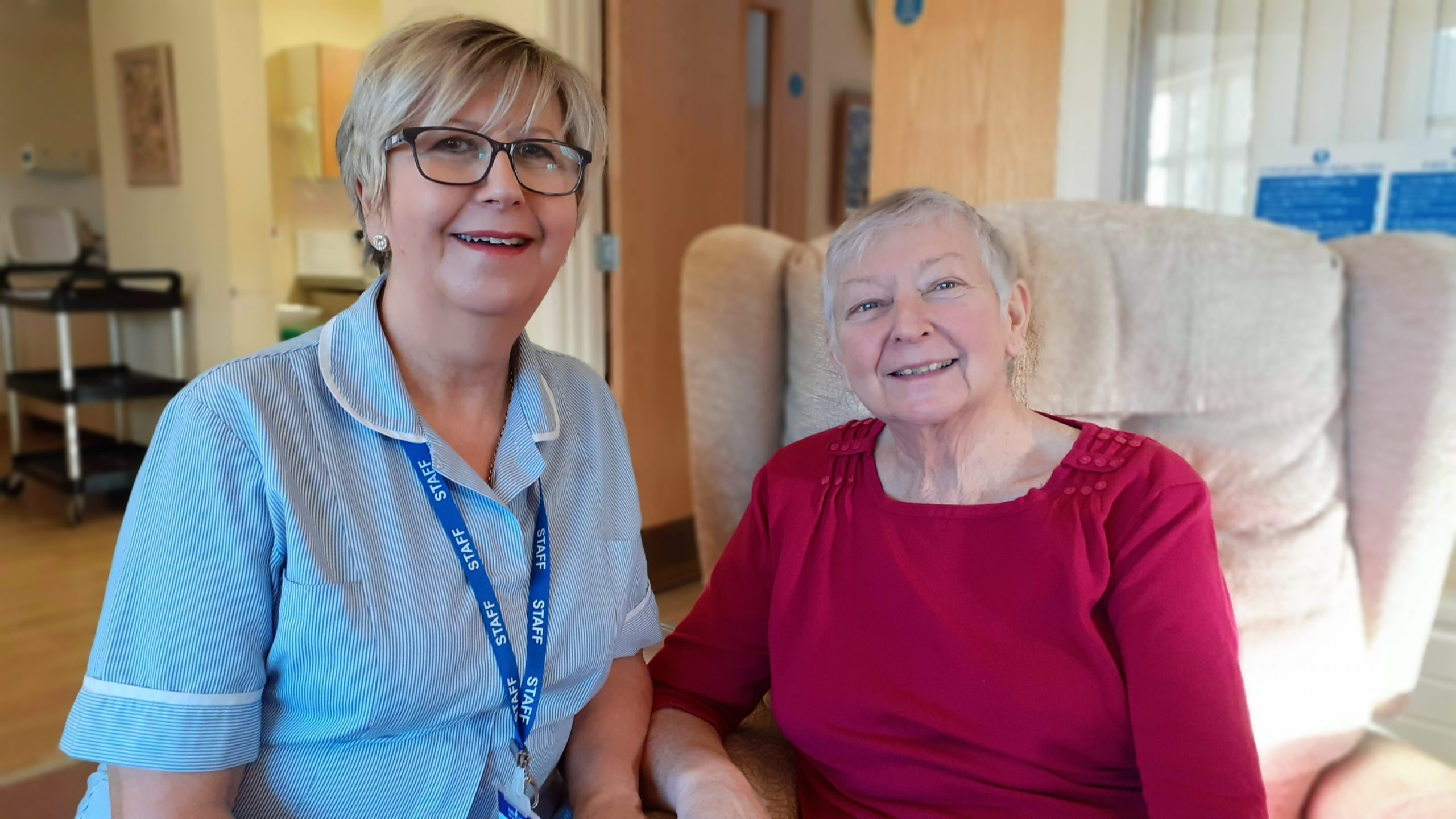 Kind-hearted couple from Llandudno donate thousands to St David's Hospice