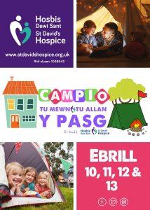 Campio Tu Mewn / Tu Allan y Pasg i Hosbis Dewi Sant 2020 @ EICH TŶ / GARDD