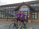 100 miles Great Orme Cycle Challenge in memory of a good friend Ed