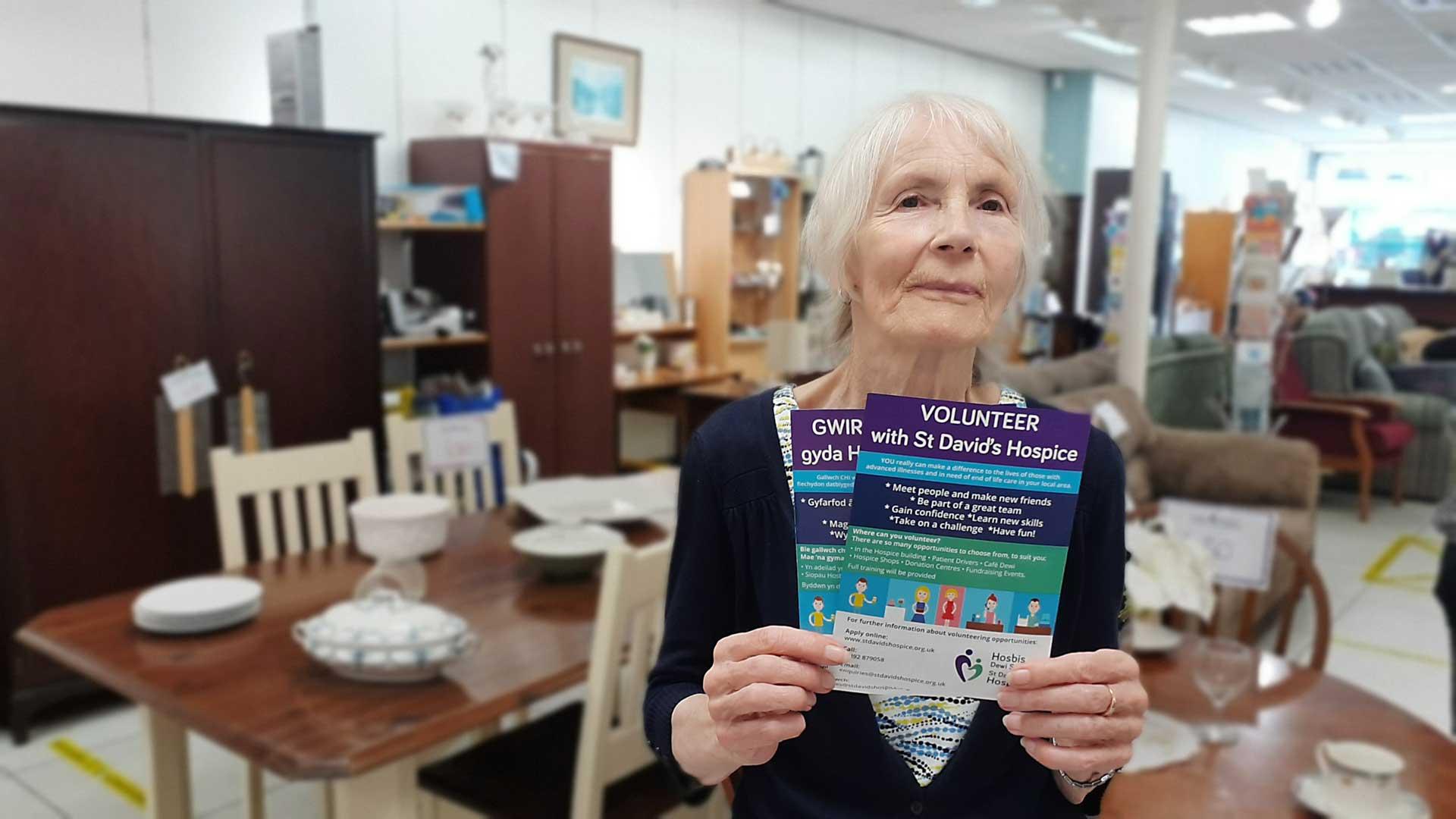 Hospice seeks volunteers for its Colwyn Bay Shop