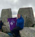 Dean Ward Hikes Tryfan, Raising £1,258 In Aid of St David's Hospice.