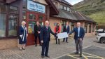 The North Wales Business community comes together for St David's Hospice and raises over £10k.