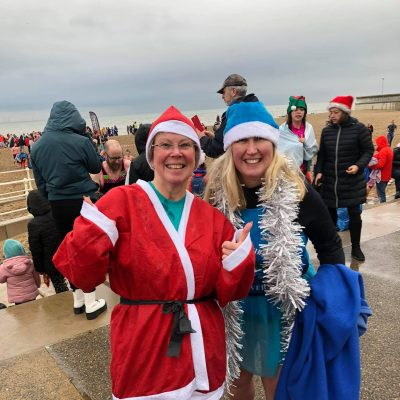 Boxing Day Dip - St David's Hospice