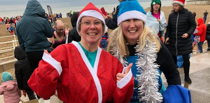 Join in a chilly Boxing Day Dip with a difference.