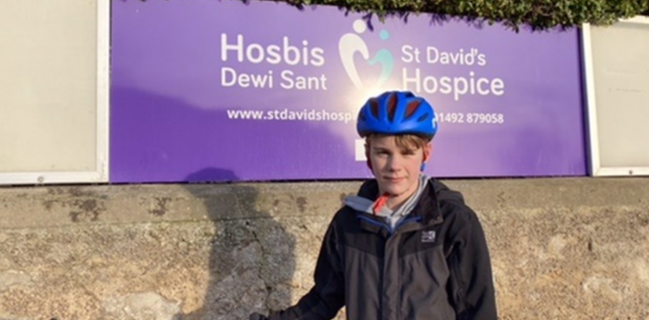 Jack Rides For The Hospice