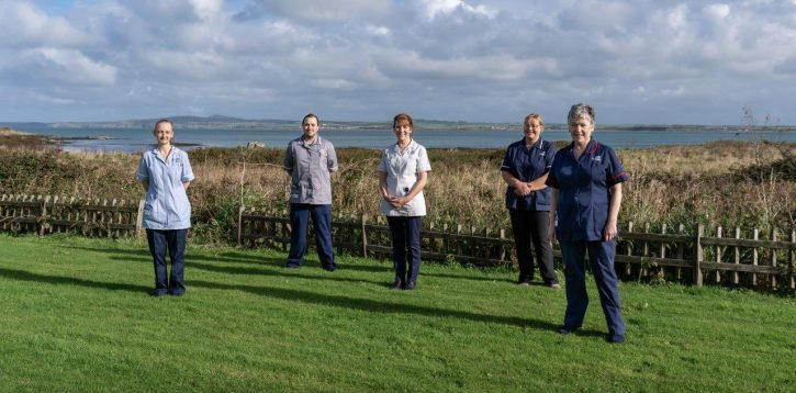 Brand-new St David's Hospice satellite unit opens on the Isle of Anglesey.
