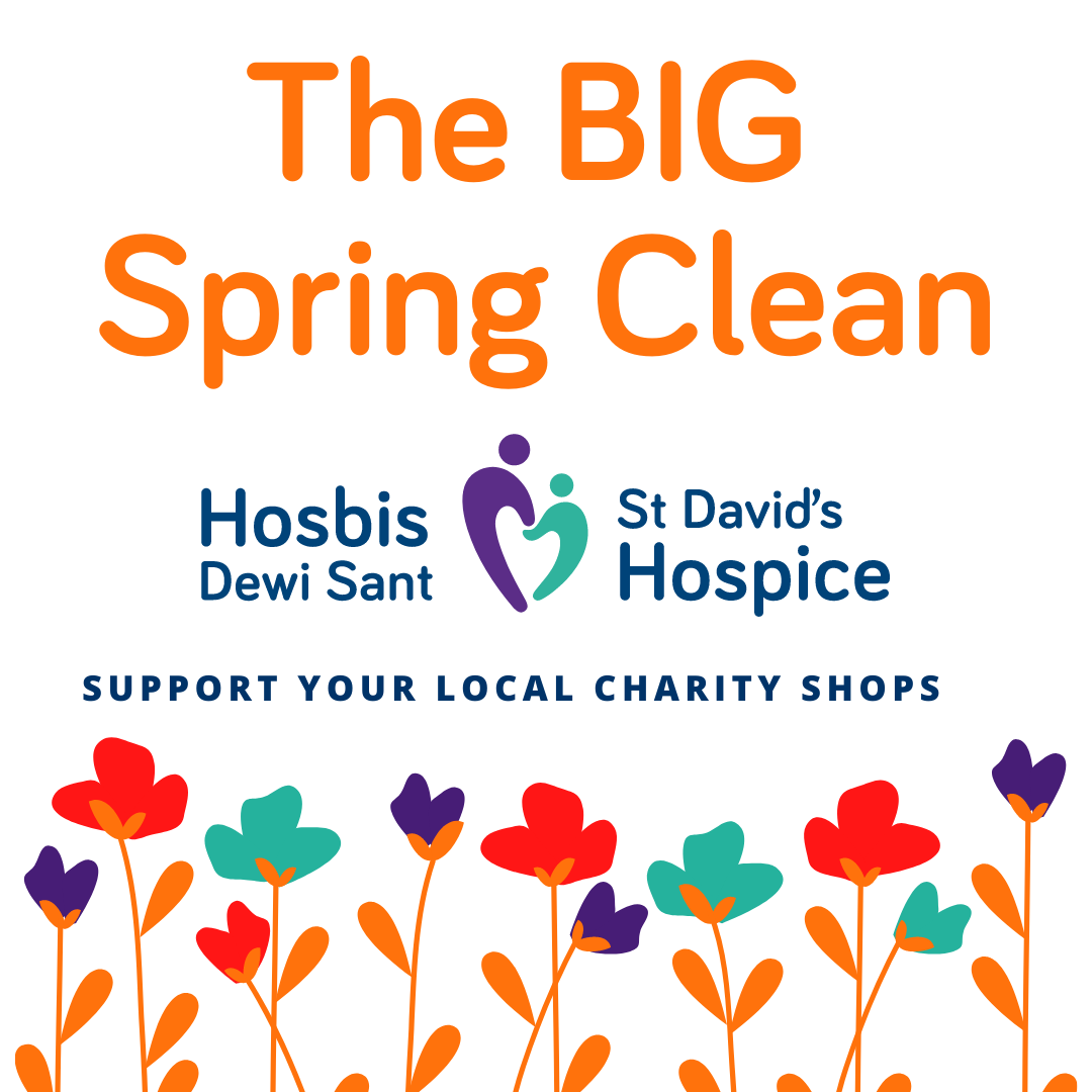 Big Spring Clean for St David's Hospice