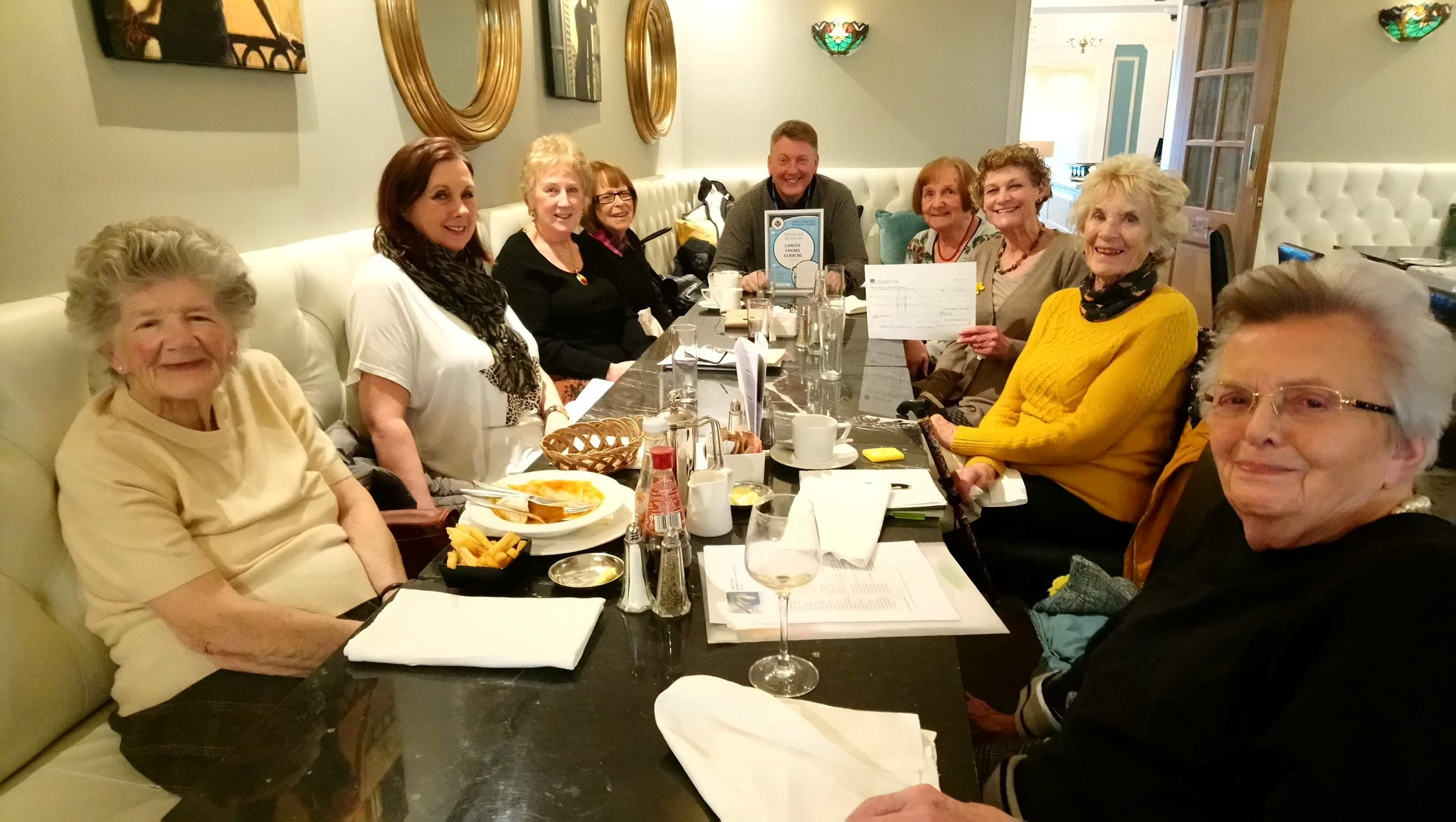 Cancer Chums raise money for three local charities!