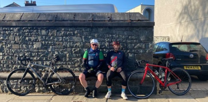 Chris Williams Raises Money for St David's Hospice tor the Third Time!