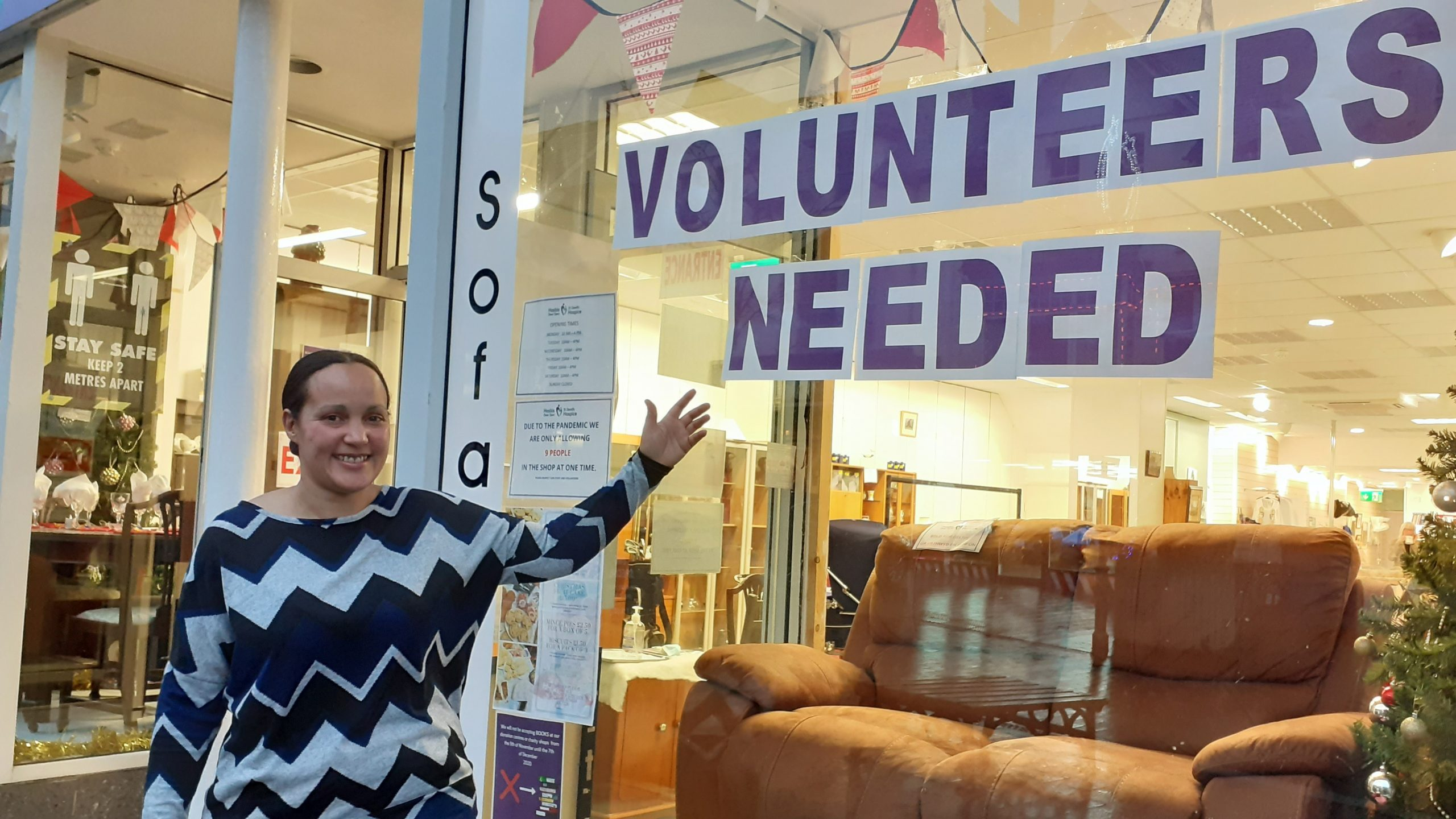 Volunteering – A small amount of your time, can make a big difference.