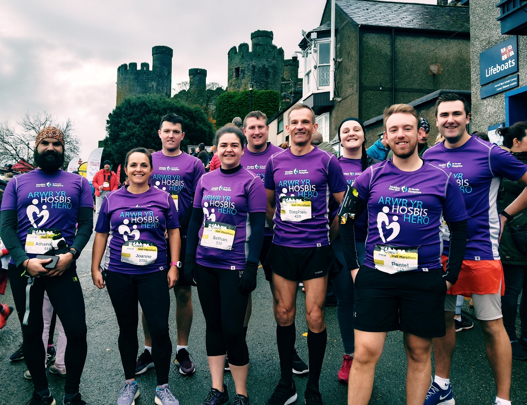 Want to take on a challenge? Run for St David's Hospice!