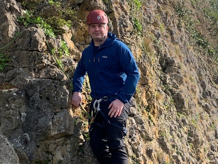 Hospice Chief Executive takes to new heights to raise cash for St David's