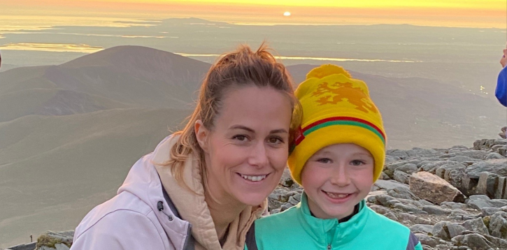 Owen climbs Mount Snowdon at sunset twice for local Hospice Care