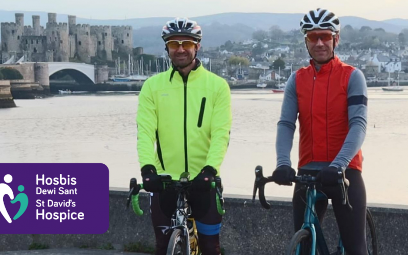 Charity target in sight as brothers-in-law prepare to saddle up for 1000 mile bike ride!