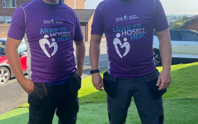 Ten-day Offa's Dyke walking challenge in aid of St David's Hospice