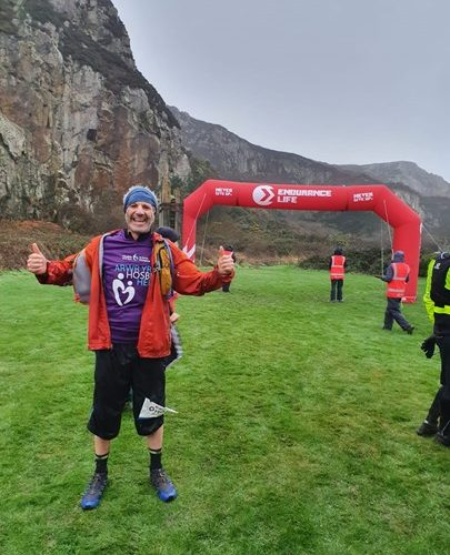 Seghir's Mountainous Running Challenge for St David's.